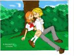 Kiss and tree by Alexeigirl