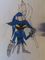 first attempt at drawing Veigar by werecatkid17