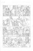 Thor Page 10 Pencils by Theamat