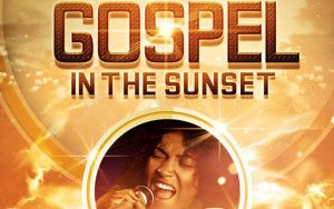 Gospel in the Sunset Church Flyer Template by loswl