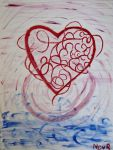 heart wrapped in energy bands by tanasha67