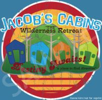 LOST: Jacob's Cabins shirt design by brokensymphony