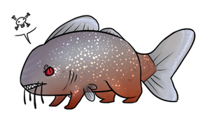 Bitey Piranha For Page by Astral-Athenaeum