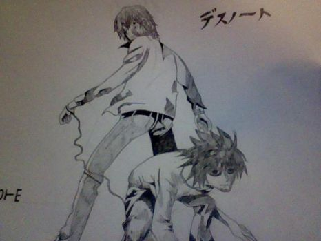 Light And L by Yagami-Lawliet