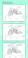 .:Short Comic 20-Drunken Love:. by Nardhwen