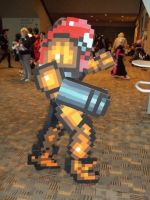 16-Bit Samus Cosplay by ChozoBoy