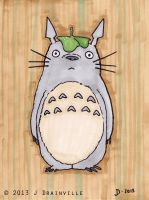 Day 13: Totoro by jdrainville