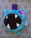 Pokemon: Zubat Zipper Pouch by sugarstitch