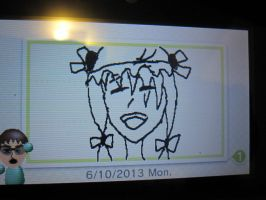 3DS Swapnote Touhou Sketch-Patchouli Knowledge by jay421501