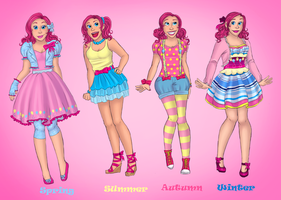 Pinkie Pie Fashion by StarVampiress13