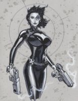 Domino commish by MichaelDooney