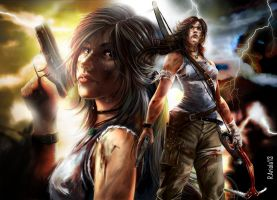 Lara Croft_Reborn by aerlixir