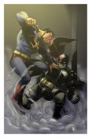 Batman vs. Superman by spidermanfan2099