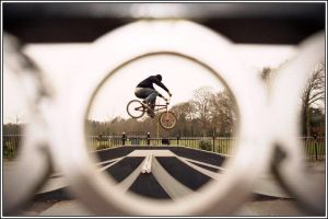 Through the Keyhole by CarveBmxMedia