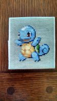 Shiny Squirtle Finished Cross Stitch by bobcrochets