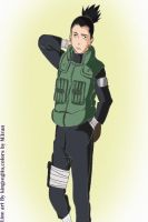 Shikamaru From Shippuden by M3ran