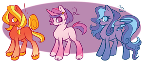 Adoptables://Ponies - Batch 2[300 points!] by Juvialle