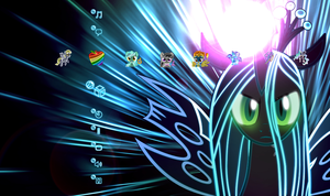 Neon Ponies PS3 theme by GAC-N7