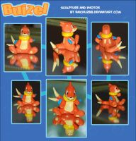 Buizel Sculpture