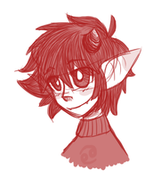 day two- karkat vantas by cheriboo