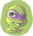TMNT: Donnie sketch by Fulcrumisthebomb