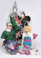 Twilight Princess Gathering by plastic-anime