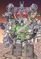 Ultra Magnus and The Wreckers by J-Rayner