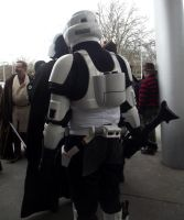 Stormtrooper back view by joshi-stock