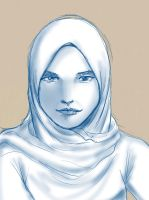 Daily Sketch - Awek by mohdsyukri83