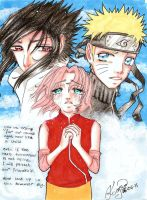Naruto Shippuuden 9th season by Odespaprikan