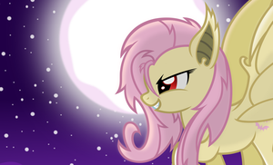 Flutterbat -The Moon- by Godoffury