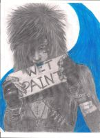 Andy/Wet Paint by MistryssC