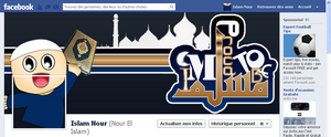 Cover Facebook Timeline I M Proud to Be Muslim by hillllallll