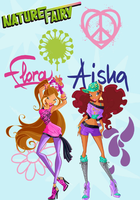 Winx Club Poster: Flora and Aisha/Layla by Rose9227614