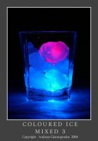Coloured Ice - Mixed 3 by Snapshooter