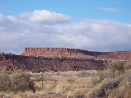 New Mexico Landscape by Seiren