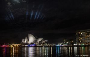 Opera House At Night by Al-Msafer