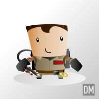 Peter Venkman by DanielMead