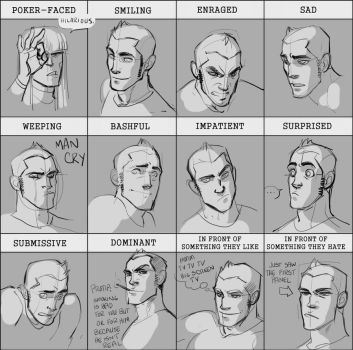Expression Meme: Jack by hellcorpceo