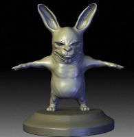 Wip - Rabbit by nemesis222