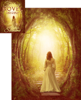 Path to the Golden Realm Premade Book Cover by Viergacht