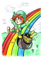 1994 :: Leprechaun by PinkAppleJam