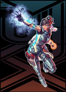 Korra + Mass Effect (FSRX 2) by ZedEdge