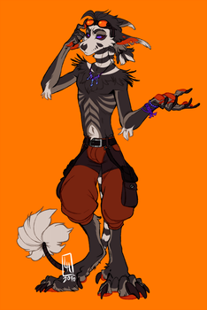 Anthro Vernid Adoptable CLOSED by LiLaiRa