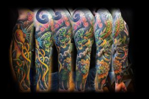 japanese sleeve complete by jerrrroen