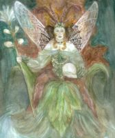 Titania Enthroned by Forfaxia