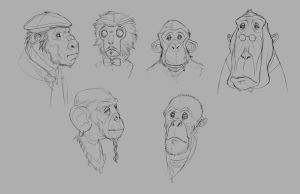 Faces Practice 3 by JohnoftheNorth