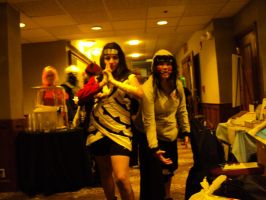 Kurenai and Kiba 2010 by Sappheirous