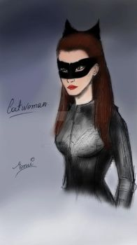 Catwoman Color2 by AmyLeeKey