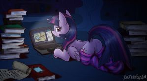 Computerized [Art Trade] by JcosNeverExisted